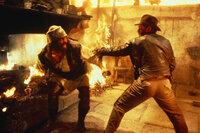 Stellt sich jedem Kampf: Indiana Jones (Harrison Ford, r.) ...