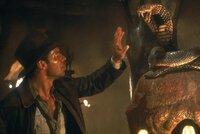 Der Archäologe Indiana Jones (Harrison Ford) bewältigt mit gekonntem Witz die atemberaubendsten Abenteuer ...