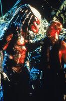 Die Feinde stehen sich gegenüber: Hat Major Dutch Schaefer (Arnold Schwarzenegger, r.) überhaupt eine Chance gegen den Predator (Kevin Peter Hall, l.)?