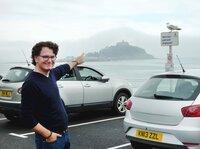 Michael Friemel hat seinen Berg entdeckt: Saint Michael's Mount in der Bucht von Penzance.