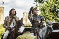 Der Mann, der Don Quixote tötete Ein Regisseur und sein verwirrter Hauptdarsteller: Adam  Driver als Toby, Jonathan Pryce als Don Quixote  Copyright: SRF/Tornasol Films/Carisco Producciones/Diego López Calvín