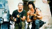 Rambo (Sylvester Stallone) ist es gelungen, seinen Freund Trautman (Richard Crenna) aus russischer Gefangenschaft zu befreien.Rambo (Sylvester Stallone) ist es gelungen, seinen Freund Trautman (Richard Crenna) aus russischer Gefangenschaft zu befreien.
