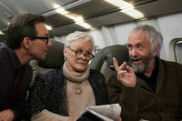 Die Frau des Nobelpreisträgers Christian Slater als Nathaniel Bone, Glenn Close als Joan Castleman, Jonathan Price als Joe Castleman SRF/2017 Impuls Pictures AG