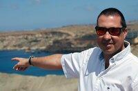 Der Archäologe Keith Buhagiar erforscht Maltas historisches Wassermanagement.