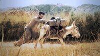 """Esel """"Edward"""" will nicht weiter. Da hilft kein Zerren und kein Ziehen. Doch der Esel ist das einzige Fortbewegungsmittel, das Filmemacher Samuel Häde an sein Ziel bringen kann: in die Hochebene des afghanischen Wakhan-Korridors, auf das """"Dach der Welt""""."""