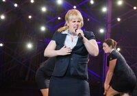 """Hat es nicht immer einfach in der A-cappella-Gruppe """"The Barden Bellas"""": Fat Amy (Rebel Wilson) ..."""