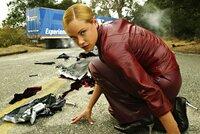 T-X (Kristanna Loken) ist weitaus mächtiger, gefährlicher und zerstörerischer als jeder Terminator vor ihr ...