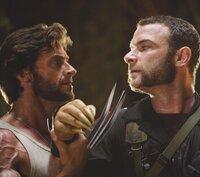 Wolverine (Hugh Jackman, l.); Victor Creed (Liev Schreiber, r.)