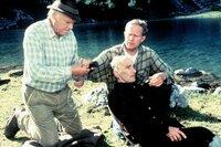(v.l.n.r.) Dr. Pankraz Obermayr (Walther Reyer); Dr. Justus Hallstein (Harald Krassnitzer); Hans Melzig (Richard Beek)
