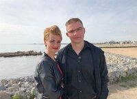 Kristina (35), und Eugen (38) auf Zypern.