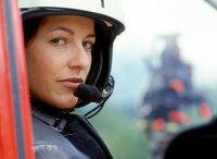 Gina Aigner (Julia Cencig) im Medicopter.