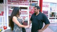 In Las Vegas trifft sich Elvis mit der Amerikanerin Liza zum etwas anderen Burger-Essen..In Las Vegas trifft sich Elvis mit der Amerikanerin Liza zum etwas anderen Burger-Essen..