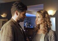 Zwischen Bernadette (Chiara Schoras) und Walter (Sebastian Ströbel) ist der Funken übergesprungen.