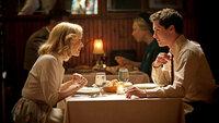 Empörung Sarah Gadon als Olivia Hutton, Logan Lerman als Marcus Messner. SRF/Winesburg Productions