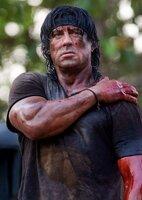 Durchlebt die Hölle auf Erden: Rambo (Sylvester Stallone) ...