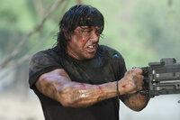 Immer auf der Seite der Guten: Rambo (Sylvester Stallone) ...