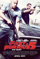 """FAST & FURIOUS FIVE"" - Plakatmotiv"