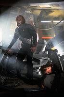 Worfs (Michael Dorn) Quartier nach einer zünftigen Klingonen-Party ...