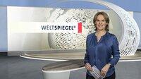"""Ute Brucker, Moderatorin der Sendung """"Weltspiegel""""."""