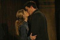 L-R: Buffy Summers (Sarah Michelle Gellar), Angel (David Boreanaz)