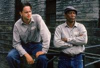 Seit zwanzig Jahren sitzt Andys (Tim Robbins, l.) neuer Freund und Schicksalsgenosse Red (Morgan Freeman, r.) ein. Auf eine Begnadigung wartet dieser bisher vergeblich ...