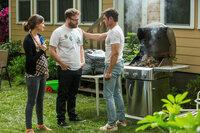 Bad Neighbors 2 Rose Byrne als Kelly, Seth Rogen als Mac, Zac Efron als Teddy SRF/Universal Pictures