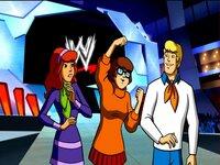 L-R:  Daphne,  Velma, Fred