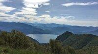 Blick von Spalavera auf den Lago Maggiore.
