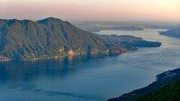 Abenddämmerung am Lago Maggiore.