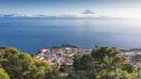 Der Vulkan Pico ist mit 2.351 Metern der höchste Berg Portugals.