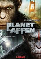 PLANET DER AFFEN: REVOLUTION - Plakat