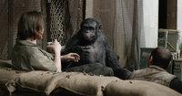Caesars rechte Hand, Demagoge Koba (Toby Kebbell, M.), macht sich geschickt daran, die Menschen und ihre Siedlung auszuspionieren. Mit schrecklichen Folgen ...