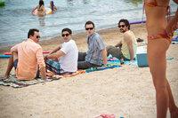 Wie früher: Oz (Chris Klein, l.), Jim (Jason Biggs, 2.v.l.), Finch (Eddie Kaye Thomas, 2.v.r.) und Kevin (Thomas Ian Nicholas, r.) ...