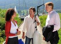 Katja Narholz (Barbara Wussow), Andreas Herzler (Helmut Zierl) und Richard von Breitenbrunn (Albert Fortell).