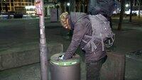 Uli Borowka lebt für 72 Stunden auf den Straßen von Frankfurt/Main