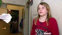 Die 8-jährige Jana möchte am liebsten raus aus der Schimmelwohnung