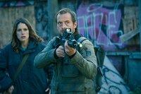 L-R: Chloe Dumont (Stéphane Caillard) and Jonathan Gresham (Stephen Campbell Moore)