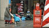 Obdachlos in Köln - Jenny Elvers wagt das Experiment und lebt auf der Straße
