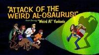 Scooby und die Gang treffen auf ihrem Road Trip auf ein Akkordeon-Camp, das von niemand anderem als Weird Al Yankovic geleitet wird. Als plötzlich ein riesiger Dinosaurier das Camp angreift, schreiten unsere Helden mutig zur Tat!