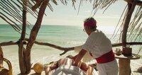 Luxuriöse Hotels säumen den Strand von Tulum. Mittlerweile kommen jedes Jahr rund zwei Millionen Touristen.