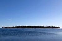 Oak Island, in the Atlantic Ocean, off the South Shore of Nova Scotia, Canada.