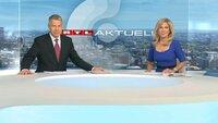 RTL-Chefredakteur Peter Kloeppel und Sport-Moderatorin Ulrike von der Groeben
