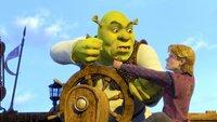 """""""Shrek, der Dritte"""", König Harold von 'Weit weit weg' ist schwer erkrankt und ernennt Schwiegersohn Shrek zu seinem Nachfolger. Der grüne Oger will seinen geliebten Sumpf aber keinesfalls verlassen. Und so begibt er sich mit dem quasselnden Esel und dem Gestiefelten Kater auf die abenteuerliche Suche nach Fionas rebellischem Cousin Arthur, dem rechtmäßigen Thronfolger. Während seiner Abwesenheit hat Shreks Gemahlin Fiona alle Hände voll zu tun: Prince Charming plant einen Angriff auf das Königreich!  SENDUNG: ORF eins - FR - 01.01.2021 - 10:40 UHR. - Veroeffentlichung fuer Pressezwecke honorarfrei ausschliesslich im Zusammenhang mit oben genannter Sendung oder Veranstaltung des ORF bei Urhebernennung."""