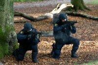 Die Scharfschützen gehen in Position.