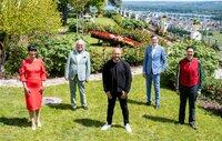 Die Experten von links: Dr. Heide Rezepa-Zabel, Albert Maier, Sven Deutschmanek, Detlev Kümmel und  Colmar Schulte-Goltz.