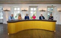 Die Experten von links: Walter Lehnertz, Susanne Steiger, Wolfgang Pauritsch, Dr. Elisabeth Nüdling, Daniel Meyer und Fabian Kahl.