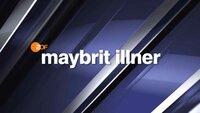 """Logo """"maybrit illner""""."""