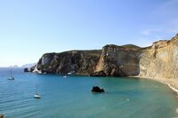 Steilküste Ciaia di Luna.