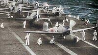 Japanische Flugzeuge.