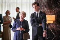 Miss Marple (Julia McKenzie) und Mike Rogers (Tom Hughes)